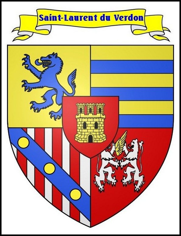 Blason de Saint Laurent du Verdon
